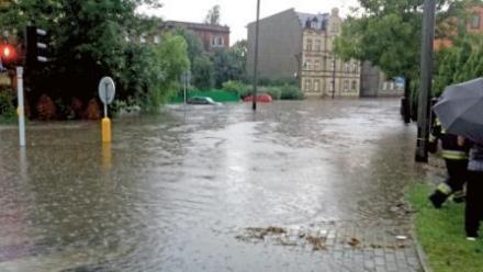 Centrum pod wodą. Czas na zbiorniki retencyjne