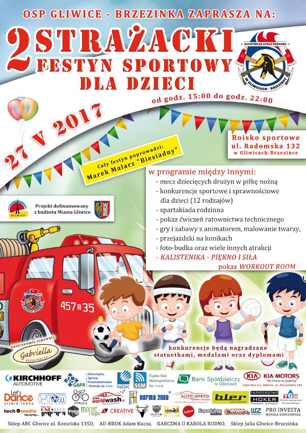 Drugi Strażacki Festyn Sportowy dla Dzieci