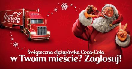 Gliwice mają szansę znaleźć się na tegorocznej Trasie Świątecznych Ciężarówek Coca-Cola
