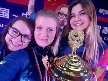 Gliwiccy curlerzy wywalczyli w Chinach złoto i srebro