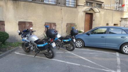 Sezon na motocykle, również policyjne