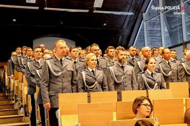 Gala Święta Policji w Gliwicach
