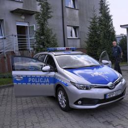 Hybrydowy radiowóz dla Komisariatu w Knurowie