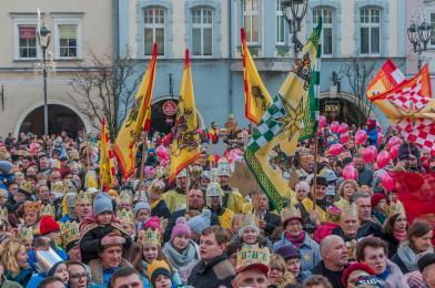 Orszak Trzech Króli znów przejdzie ulicami Gliwic