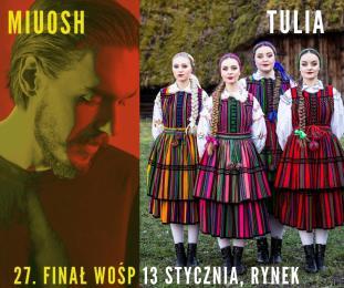 Miuosh i Tulia na WOŚP-ie w Gliwicach