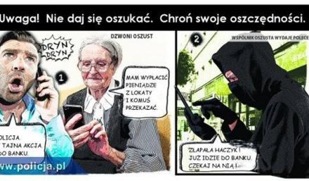 """Aż 6 prób oszustwa metodą """"na policjanta"""" w Gliwicach. Zachowajmy czujność!"""