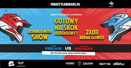 Freestyle Heroes: Niesamowite show z wyjątkowymi bohaterami w Gliwicach