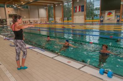 Bezpłatny aqua aerobik dla seniorów - 18 marca ruszą zapisy