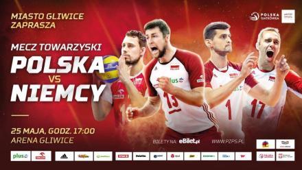 Towarzyski mecz Polska - Niemcy w Arenie Gliwice!