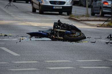 Tragiczny wypadek motocyklisty w Knurowie