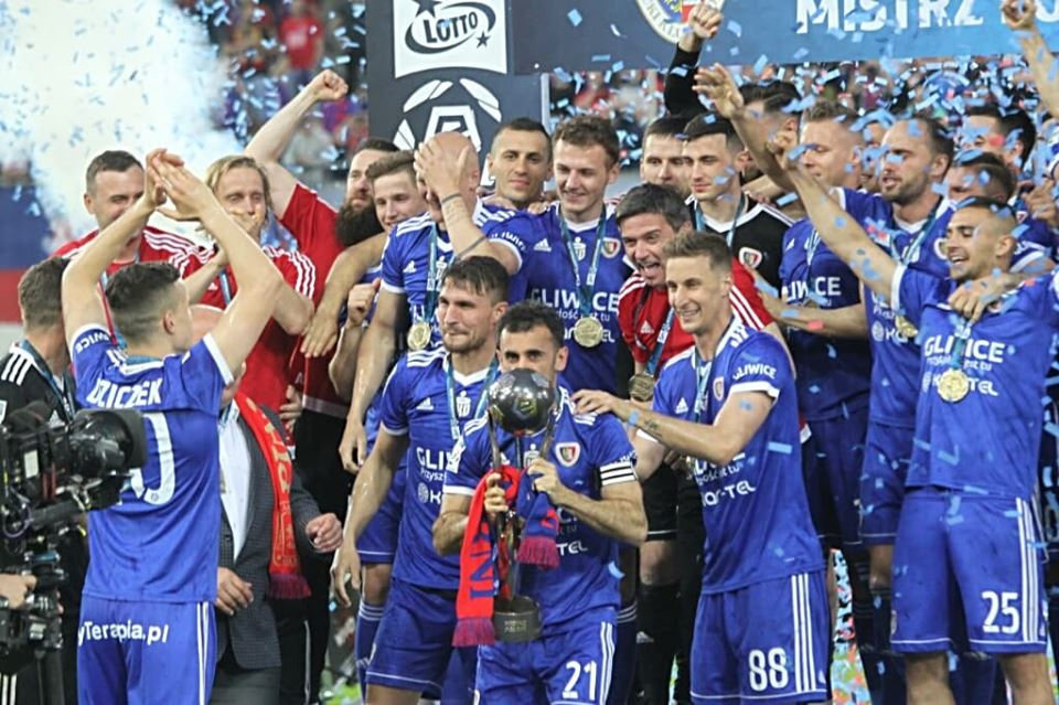 Piast Gliwice mistrzem Polski