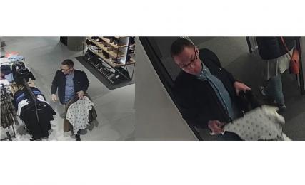 Mężczyzna ukradł ze sklepu cztery pary spodni - rozpoznajesz go?