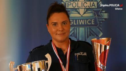 Gliwicka policjantka najsilniejszą w kraju