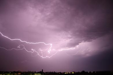 Ostrzeżenie przed burzami!