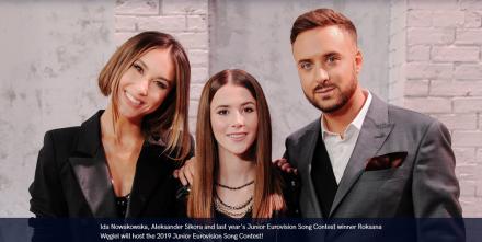 Junior Eurovision 2019 w Gliwicach! Kto poprowadzi konkurs?