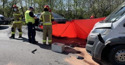 Gliwice: Tragedia na DK88. Nie żyje motocyklista