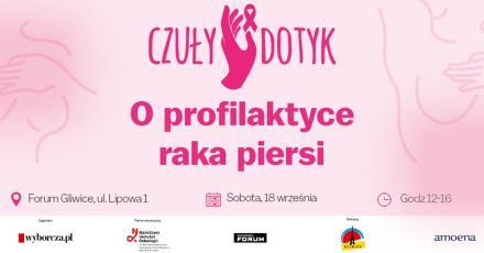 Czuły Dotyk - w ramach profilaktyki raka piersi