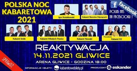 Polska Noc Kabaretowa wkrótce w Gliwicach!