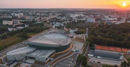 Arena Gliwice w pierwszej lidze najnowocześniejszych, europejskich obiektów