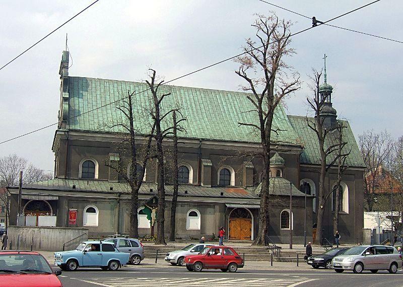 Gliwice - Kościół pw. Podwyższenia Krzyża Świętego