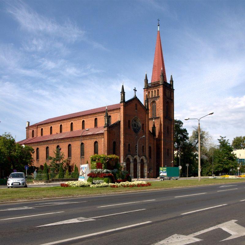 Śródmieście - Kościół pw. św. Barbary - Wojskowa