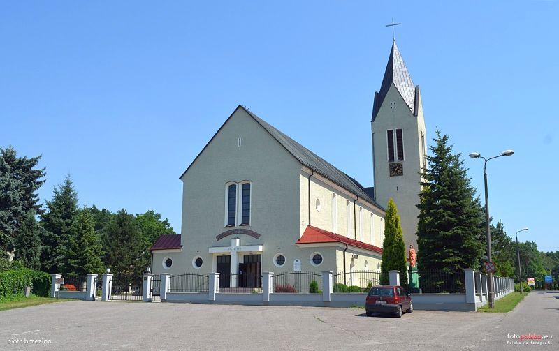 Łabędy - Kościół pw. św. Jerzego