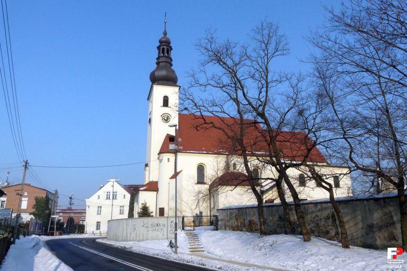 Łabędy - Kościół pw. Wniebowzięcia Najświętszej Maryi Panny