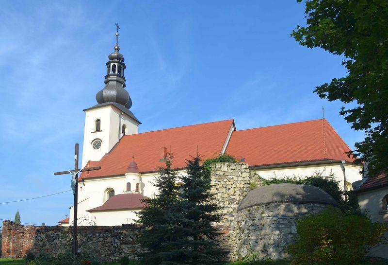 Parafia Łabędy - Kościół pw. Wniebowzięcia Najświętszej Maryi Panny