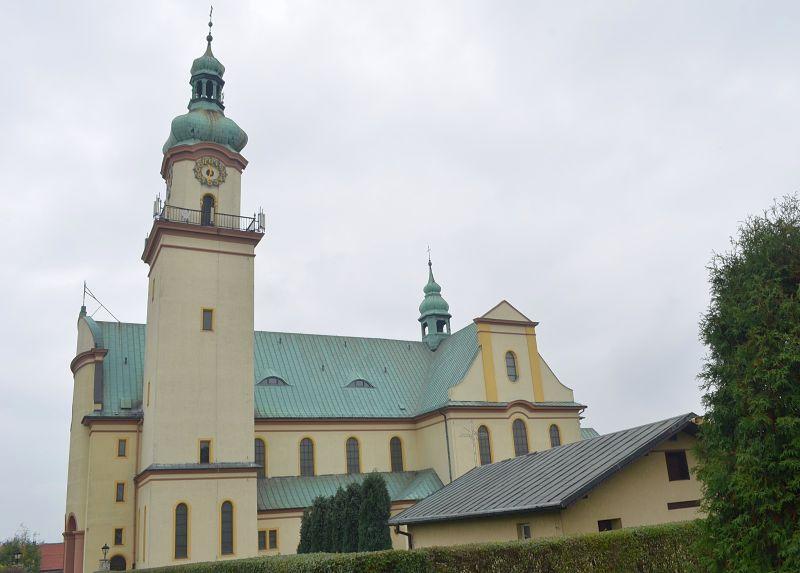 Parafia Ostropa - Kościół pw. Ducha Świętego
