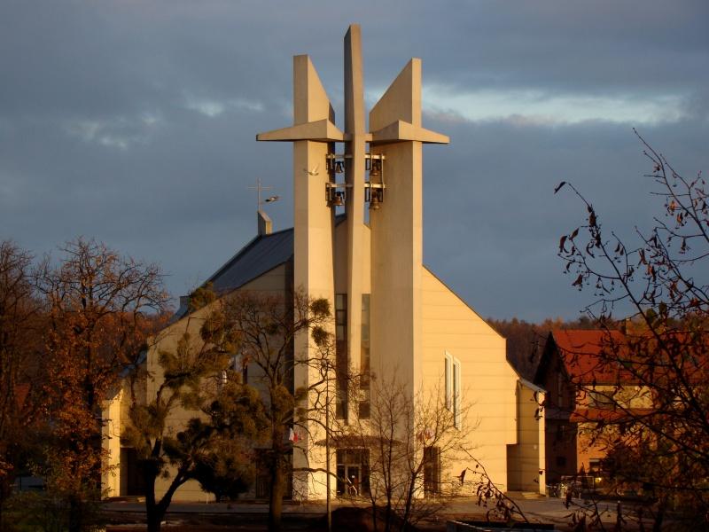 Parafia Obrońców Pokoju - Kościół pw. Miłosierdzia Bożego