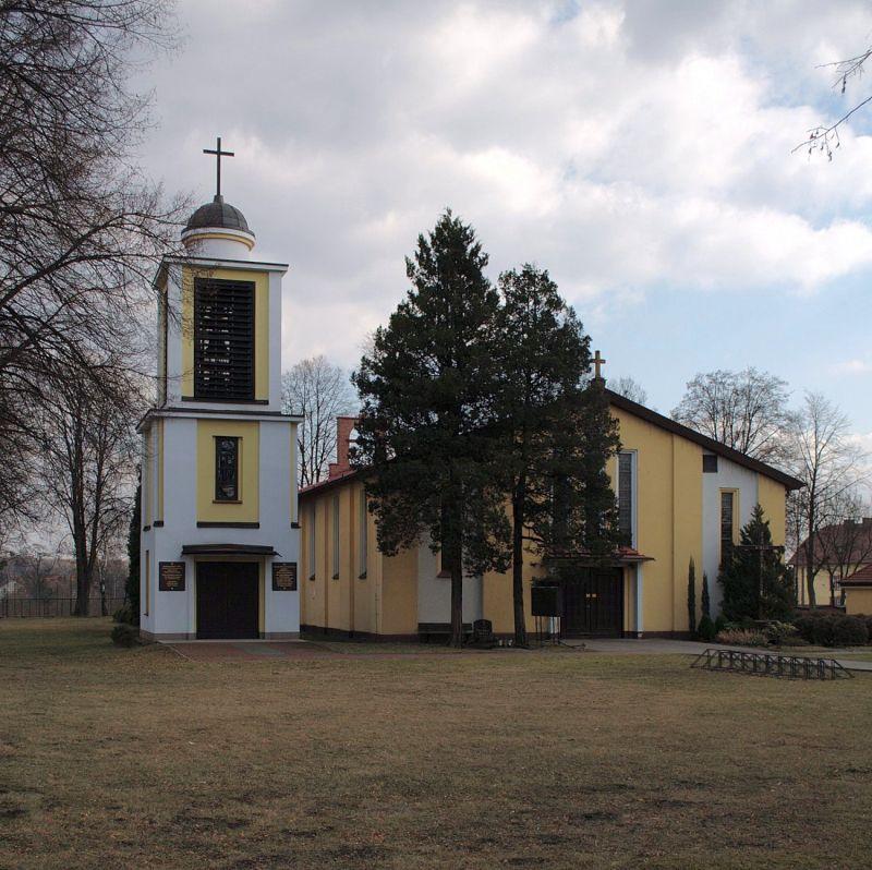 Parafia Żerniki - Kościół pw. św. Jana Chrzciciela
